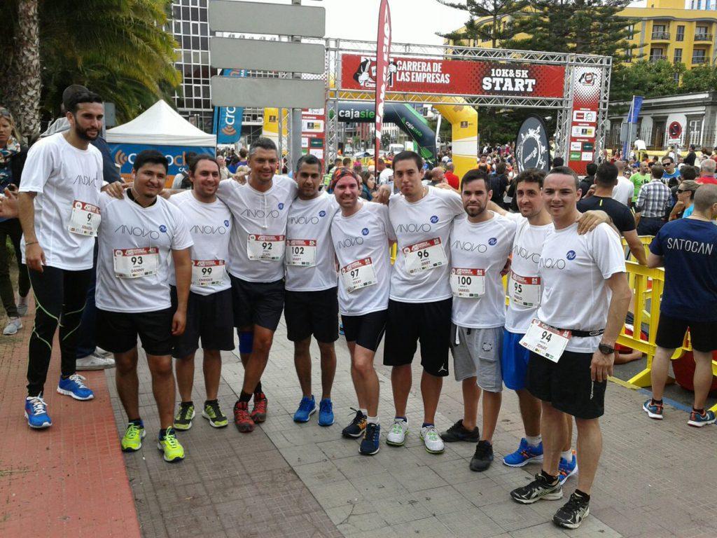ANOVO en la II edición de la Carrera Canarias7 de Las Palmas