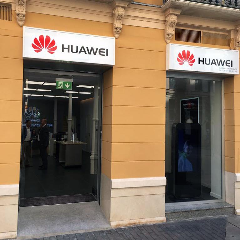 nueva tienda de atención al cliente huawei