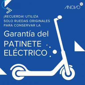 Garantía patinete eléctrico