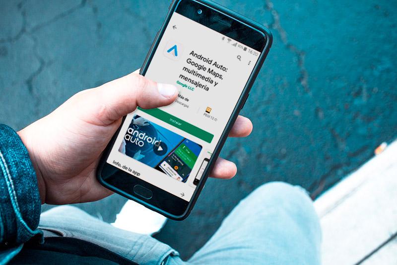 android auto instalacion