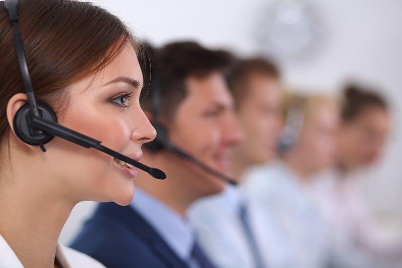 Servicio postventa contact center