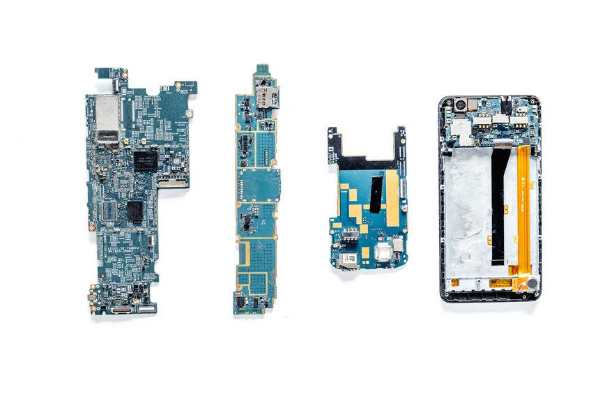 Placa base móviles. Componetes smartphones