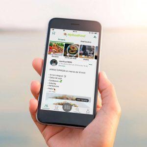 App para mejorar la alimentación y comer sano