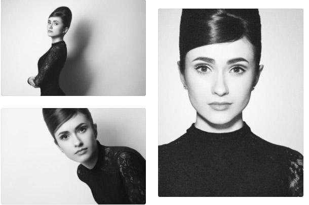 fotografía digital de retratos
